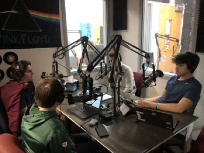 Jack Rubelmann, Dawson Vo, Sam Stimpson and Tyler Nesbitt on Guys in the Garage