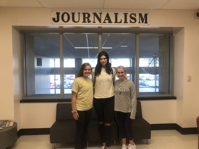 Madison Anderson and Erin Richardson with Profile guest Brittany Creech (@MoGirlProbs)
